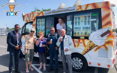 Corporate Event – Mr Whippy Ice Cream